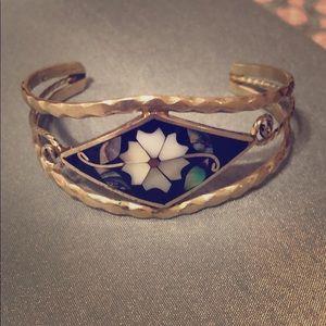 Jewelry - Vintage silver cuff bracelet